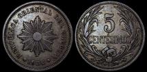 World Coins - 1936 A Uruguay 5 Centesimo - Decimal Coinage - AU