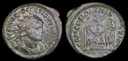 Ancient Coins - Diocletian Antoninianus - CONCORDIA MILITUM - Rome Mint