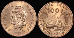 World Coins - 1976 French Polynesia 100 Franc - BU