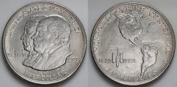 Us Coins - 1923 S Monroe Doctrine Centennial Commemorative Silver Half Dollar - BU