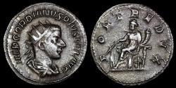 Ancient Coins - Gordian III Ar Antoninianus - FORT REDVX - Rome Mint