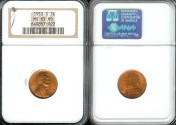 Us Coins - 1953 S Lincoln Cent MS65 Red NGC