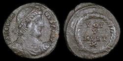 Ancient Coins - Jovian Ae3 - VOT V MVLT X - Heraclea Mint