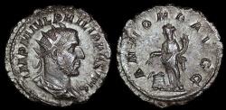 Ancient Coins - Philip I Ar Antoninianus - ANNONA AVGG - Rome Mint