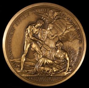 World Coins - 1799 France - Napoleon - The Cisalpine Republic Restored, Italy by Carlo Domenico Lorenzo Lavy