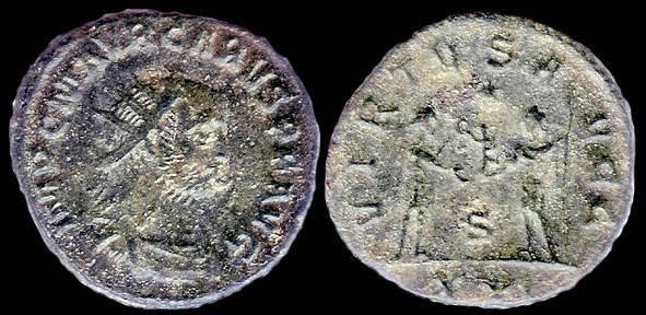 Ancient Coins - Carus Antoninianus - VIRTVS AVGGG - Antioch Mint