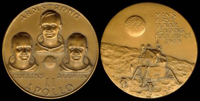 1969 US: Apollo 11 commemorative medal