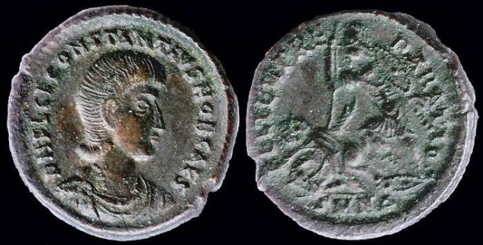 Ancient Coins - Constantius Gallus Centenionalis - FEL TEMP REPARATIO - Nicomedia Mint