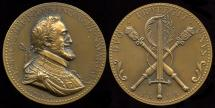 World Coins - 1598 France - Henry IIII - The Unification of Two Kingdoms by Coenraad Bloc and René Baudichon