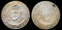 World Coins - 1935 Nicaragua 10 Centavos XF