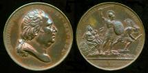 World Coins - 1823  France - Louis XVIII, Restoration of the Spanish Throne by Raymond Gayrard