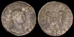 Ancient Coins - Tacitus Antoninianus - CLEMENTIA TEMP - Rome Mint