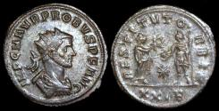 Ancient Coins - Probus Antoninianus - RESTITVT ORBIS - Siscia Mint
