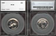 Us Coins - 1959 Washington Quarter SEGS PR66