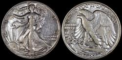 Us Coins - 1944 P Walking Liberty Half Dollar AU