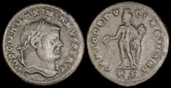 Ancient Coins - Maximianus Follis - GENIO POPVLI ROMANI - Cyzicus Mint