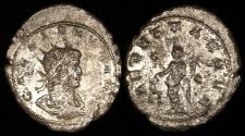 Ancient Coins - Gallienus  Silvered Antoninianus - AEQVITAS AVG - Rome Mint