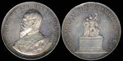 World Coins - 1892 Bavaria – Prince-Regent Luitpold – Erection of the Army Monument