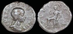 Ancient Coins - Julia Maesa  Denarius - PUDICITIA - Rome Mint