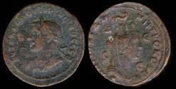 Ancient Coins - Philip I Ae31 - Tyche - Syria, Pieria-Antiochia ad Orontem