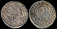 World Coins - 1509 Hungary Denar - Vladislav II XF