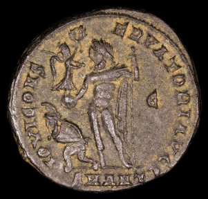 Ancient Coins - Licinius I Follis - IOVI CONSERVATORI AVGG - Antioch Mint