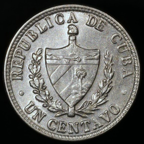 World Coins - 1946 Cuba 1 Centavo - 1st Republic - BU
