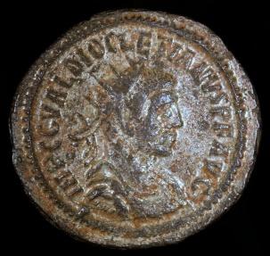 Ancient Coins - Diocletian  Antoninianus - IOVI CONSERVATORI AVG - Tripolis Mint