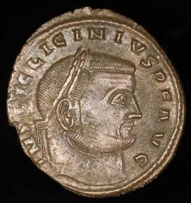 Ancient Coins - Licinius I Follis - IOVI CONSERVATORI AVGG NN - Siscia Mint