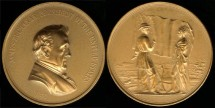 Us Coins - 1857 James Buchanan - US Mint Medal