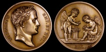 World Coins - 1807 France - Napoleon - Marriage of Jérôme Napoleon by Jean-Bertrand Andrieu and Dominique-Vivant Denon