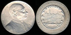 World Coins - 1903 France – Father Paul Buguet - Shrine of Our Lady of Montligeon by Marius-Jean-Antonin Mercié