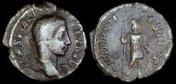 Ancient Coins - Severus Alexander Denarius - P M TR P VII COS II P P - Rome Mint