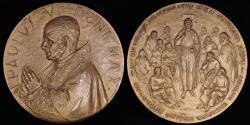 World Coins - 1963 Vatican - Pope Paul VI - Second Vatican Council by Senesi and Barinini