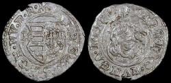 World Coins - 1618 KB Hungary 1 Denar - Mathias II - AU Silver