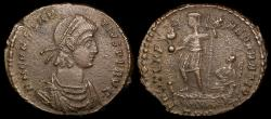 Ancient Coins - Constantius II Ae Follis - FEL TEMP REPARATIO - Trier Mint