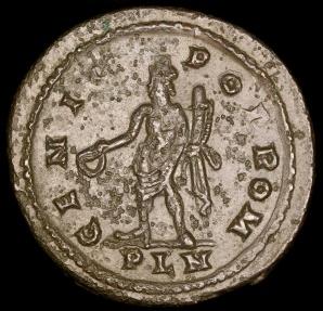 Ancient Coins - Constantine I Follis - GENIO POP ROM - London Mint