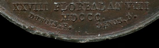 World Coins - 1800 France - Napoleon - The Army Crosses the St. Bernard / The Battle of Marengo by Etienne Jacques Dubois and Dominique-Vivant Denon