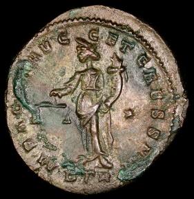 Ancient Coins - Constantius I Follis - SACRA MONET AVGG ET CAESS NN - Rome Mint