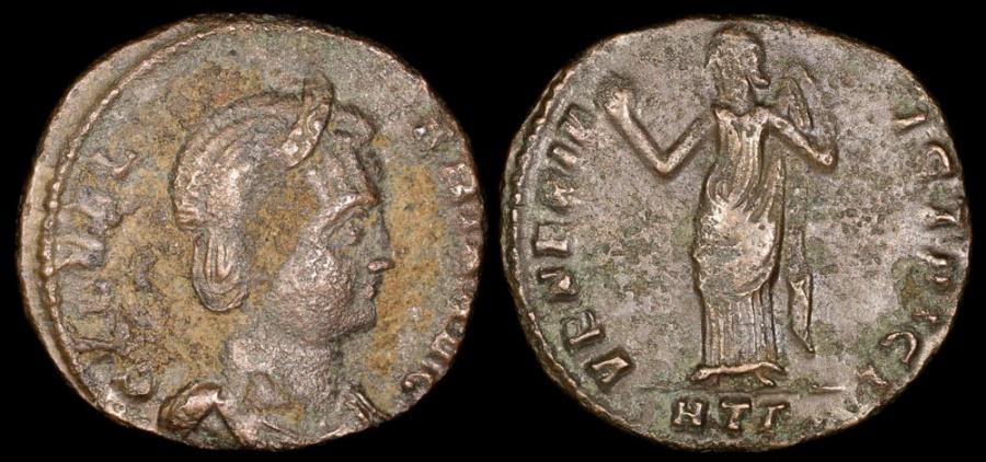 Ancient Coins - Galeria Valeria Ae Follis - VENERI VICTRICI - Heraclea Mint