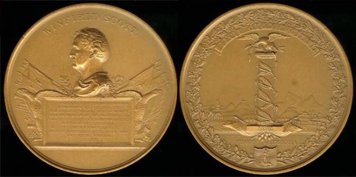 US Coins - 1812 Major General Winfield Scott - US Mint Medal