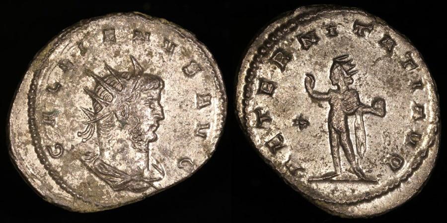 Ancient Coins - Gallienus Antoninianus - AETERNITATI AVG - Asian Mint