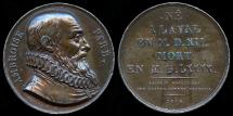 World Coins - 1816 France – Ambroise Pare (A French surgeon who served as royal surgeon for a number of French kings) by Alexis-Joseph Depaulis