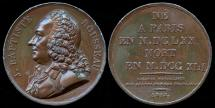 World Coins - 1818 France – Jean-Baptiste Rousseau (French poet) by Pierre-Simon-Benjamin Duvivier