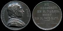 World Coins - 1816 France – Alexander Pope (18th-century English poet) by Pierre-Simon-Benjamin Duvivier