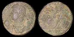 Ancient Coins - Constantius II Ae3 - FEL TEMP REPARATIO - Alexandria Mint