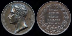World Coins - 1817  France - André Masséna 1st Duc de Rivoli, 1st Prince d'Essling, a French military commander during the Revolutionary and Napoleonic Wars by Jacques-Jean Barre.