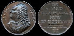 World Coins - 1819 France - Alexis Piron (French epigrammatist and dramatist) by Masson