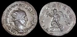 Ancient Coins - Trajan Decius Antoninianus - VICTORIA AVG - Rome Mint