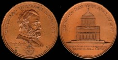 Us Coins - 1897 US – General Grant Commemorative Medal